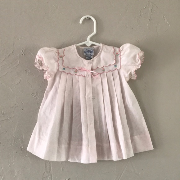 FIRST IMPRESSIONS INFANT GIRLS PINK 4 PIECE OUTFIT SIZE 6-9 MONTHS NEW WITH TAGS